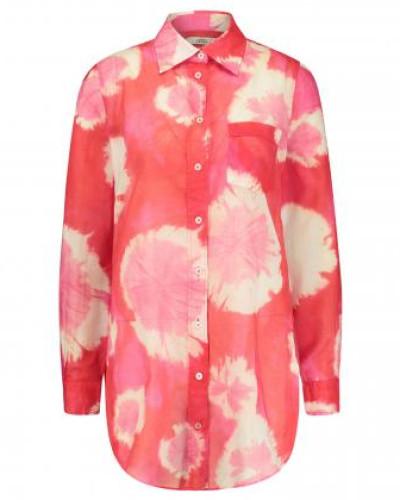 Bluse 'Taya' in Batik-Optik