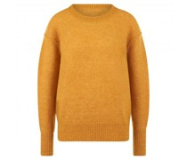 Pullover aus Mohair-Woll Mischung