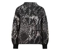 Pullover 'Pnake' mit Musterung