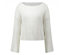 Strickpullover in Cropped-Länge