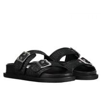 Sandaletten in Flecht-Optik
