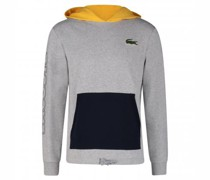 Hoody mit Logo-Applikation