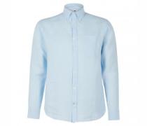 Regular-Fit Hemd aus Leinen
