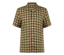 Bowlinghemd 'Miyagi' mit Leinenanteil