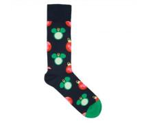 Socken mit weihnachtlichem Disney-Motiv