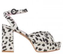 Sandaletten mit Plateauabsatz
