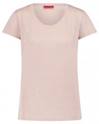 T-Shirt in Metallic-Design