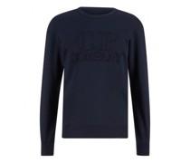 Leichtes Sweatshirt mit Logo-Stitching
