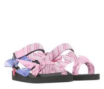 Sandaletten mit Musterung