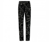Hose mit All-Over Print