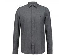 Regular-Fit Hemd mit Strukturmuster