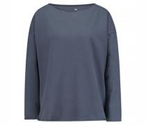 Sweatshirt mit Rollsaumkanten