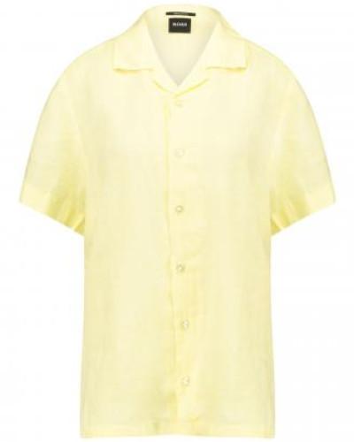 Regular-Fit Hemd 'Rhythm' aus Leinen