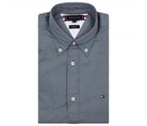 Regular-Fit Hemd mit All-Over Muster