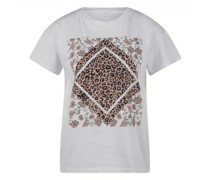 T-Shirt mit Leo-Muster