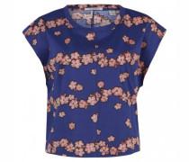 Oversize-Shirt mit floralem Print