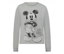 Sweatshirt mit Mickey Mouse-Print