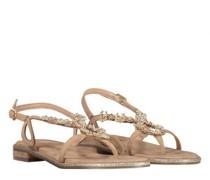 Sandalen mit Steinchenbesatz