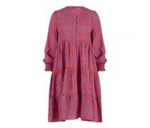 Kleid mit All-Over Musterung