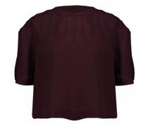 Blusenshirt mit gewellten Details