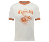 Sportives T-Shirt mit Druck