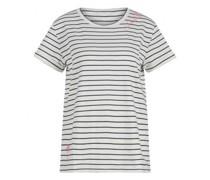 T-Shirt mit All-Over Streifenmuster