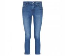 Slim-Fit Jeans 'Parla' mit Zipdetails