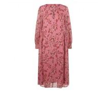 Kleid mit Kirschblüten-Print