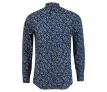 Slim-Fit Hemd 'Ferene' mit All-Over Muster