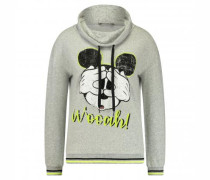Pullover mit Mickey Mouse Print