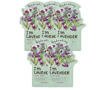 I'm Lavender Sheet Maske 5 Pack
