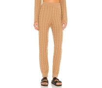 Cashmere Cable Knit Easy Hose