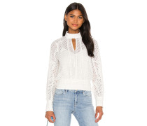 Eyelet Party Top