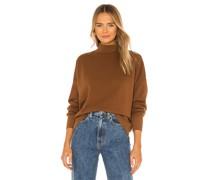 Cleo Mock Neck Sweatshirt