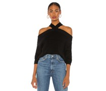 Ariana Cold Shoulder Pullover