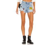 Jeans Patch Short