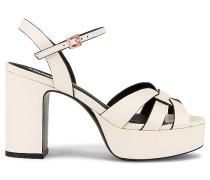 Stiefeles Platform Sandale