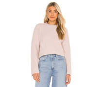 Cable Rib Mix Pullover