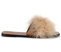 Farro Short Feather Sandale