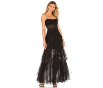 Corsage Tulle Abendrobe