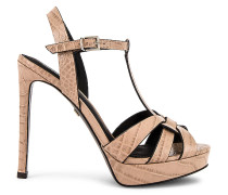 Mavra Croco High Heel Sandalette