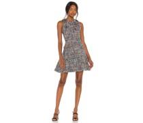 Multi Tweed Jewel Kleid