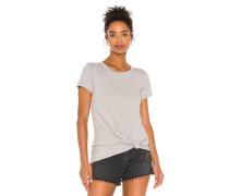 Vintage Jersey Knotted Tshirt