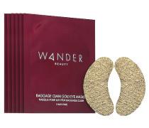 Taschegage Claim Gold Eye Maske 6 Pack