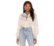 Paloma Printed Bluse