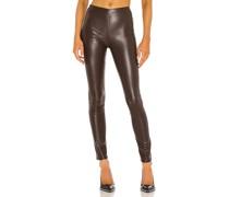 Nina Faux Leather Skinny Hose