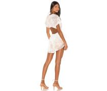Verbena Lace Krawattered Minikleid