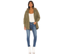 JACK by  Call Of The Wild Faux Fur Trim Jacke / Sakko