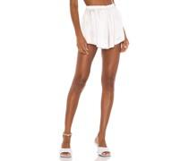 Flirty Satin Shorts