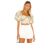 Chamomile Jeans Crop Top